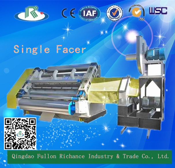 Cover Adsorption Style Corrugated Cardboard Single Facer