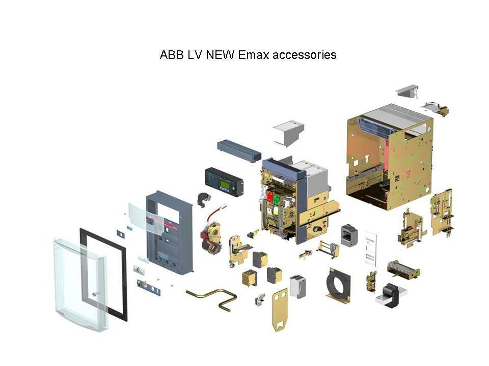 ABB LV new Emax spare part