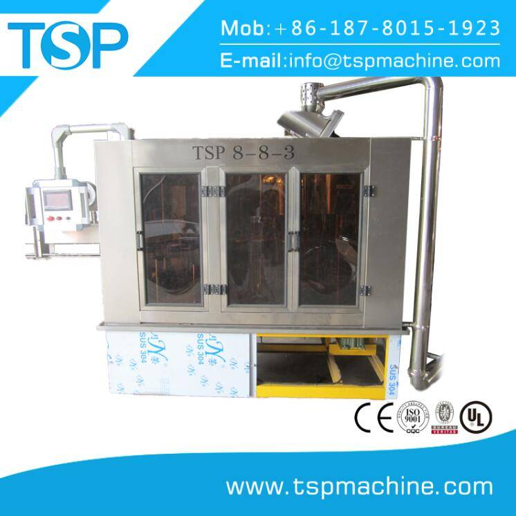TSP-CGF-8-8-3 Automatic  Mineral Water Filling Plant /Machine/Equipment