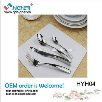 Wholesale chinese stainless steel tableware,flatware set,cutlery set