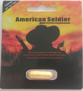 American Soldier sex pill for Male Enhancement