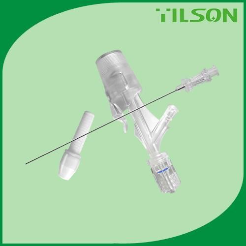 medical Y click connector Haemostatic valve sets