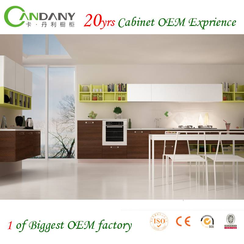 20 Yrs in OEM/ODM Most Eco-friendly Acrylic&melamine Kitchen Cabinet