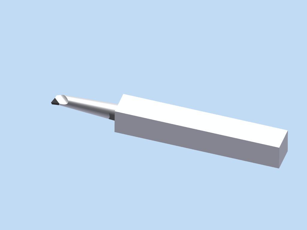 PCD PCBN External Threading Tool