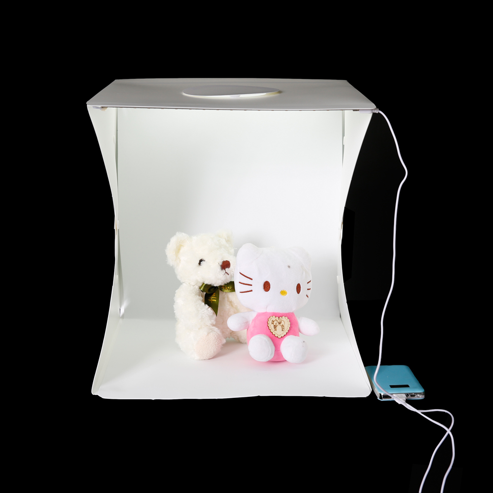 40cm photo studio led ligh room photography studio light tent box