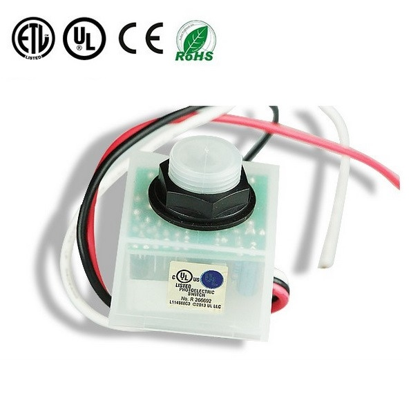 120-277VAC Lighting Control Wire-in Photocells Photoelectric Switch