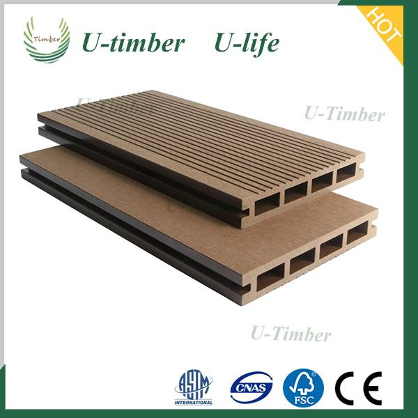 Waterproof eco friendly factory price wpc decking floor wpc board