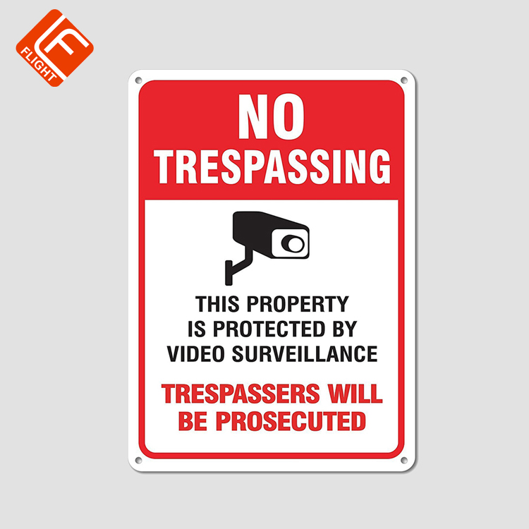Custom Video Surveillance Signs Metal Security Warning Signs