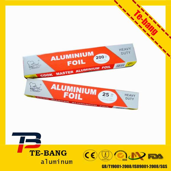 aluminum household foil for Nigeria market with thickness 9mic 10mic