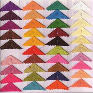 Cationic Dupion Fabrics