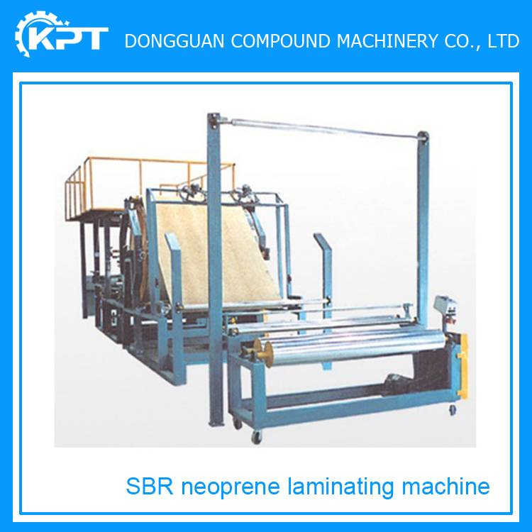 wet suit sbr neoprene laminating machine