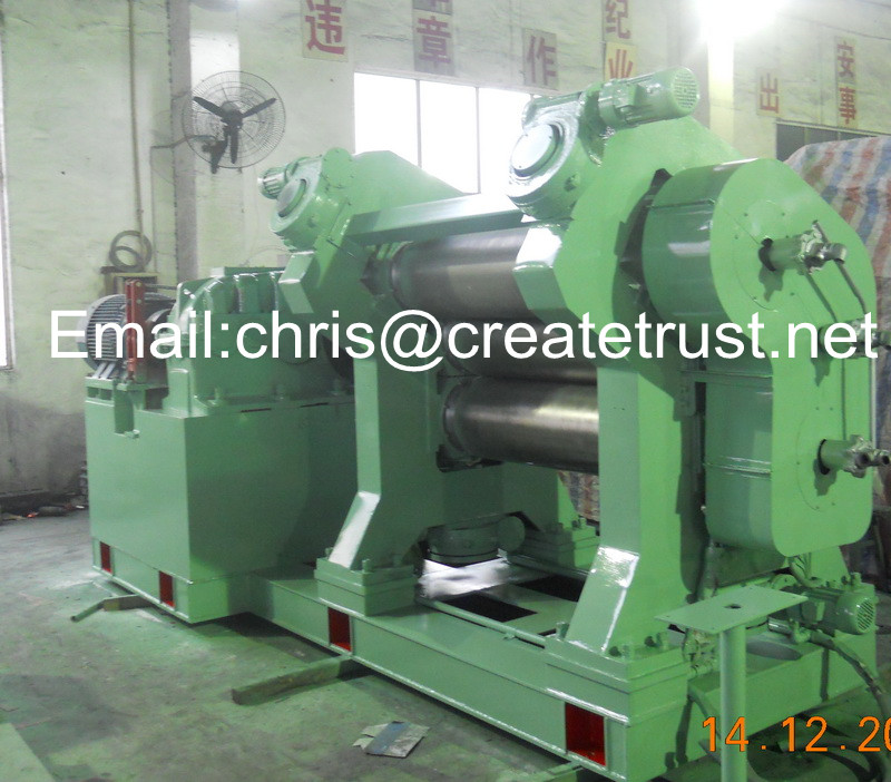 rubber calender mill/rubber calender machine