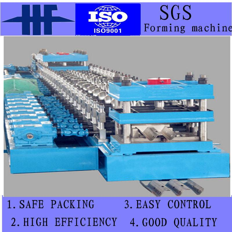 High Speed Guardrial Cold Roll Forming Machine