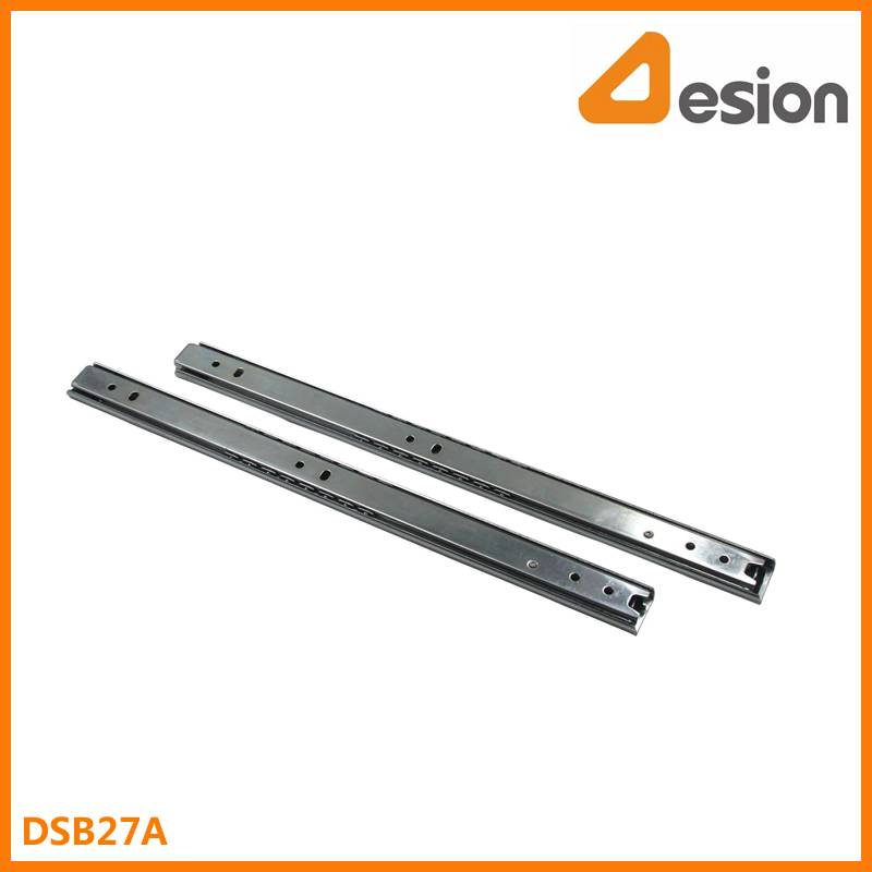 27mm Two Section Pull out Ball Bearing Slides