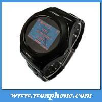 Watch phone W950 with Steel house-Camera-Expand Memory-1.3