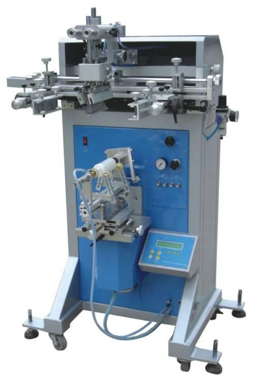 Semi-auto Round Screen Printing Machine