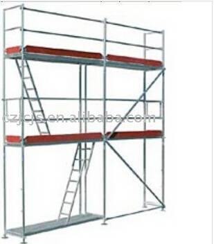 OEM frame scaffolding system and frame scaffold parts