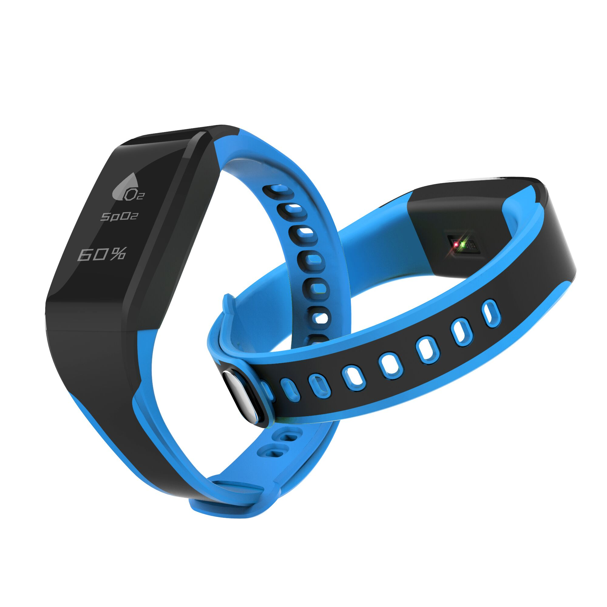 Swimming Smart bracelet Waterproof IP68 Grade 0.96inch blood oxygen function