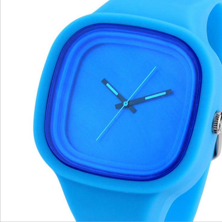 2016 newest luminous waterproof silincone wristwatch