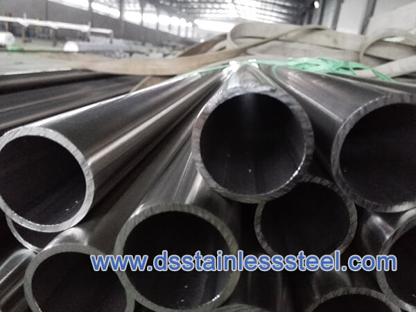 Welded Steel Pipe ASTM A789 UNS S31803 Bright Annealed Stainless Steel Tube