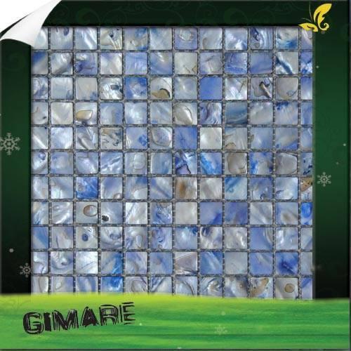 river shell mosaic
