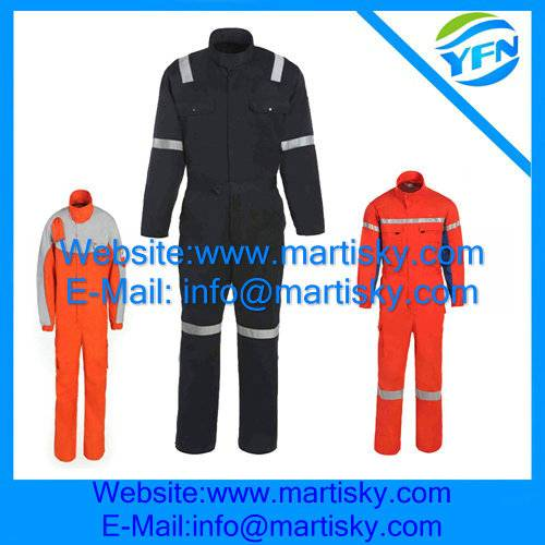 The Flame Retardant And Reflective Coverall safety workwear