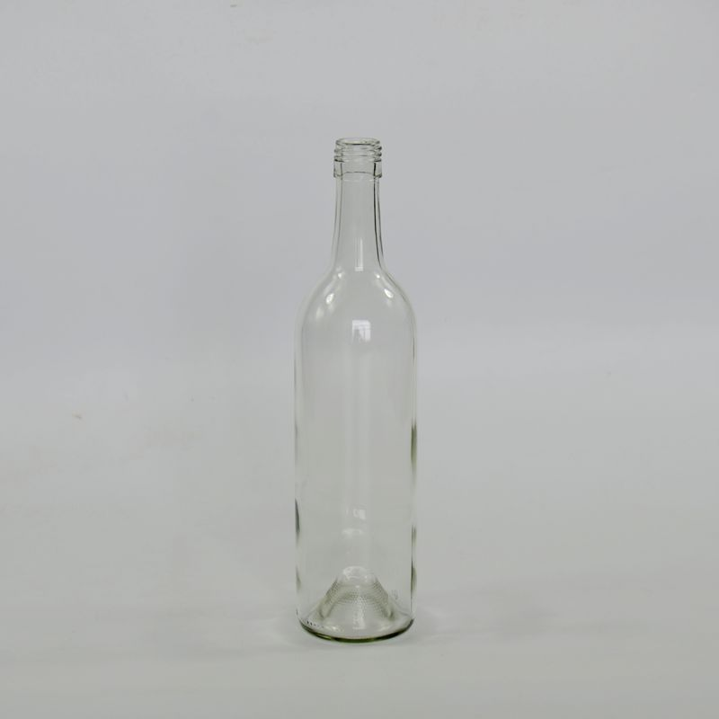 China glass bottle, 750ml screw top wine glass bottle