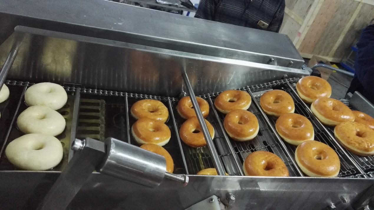 Automatic Mini Doughnut Production Machine-yufeng