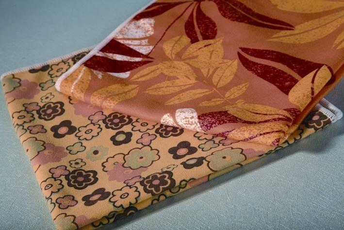 Microfiber Printed Suede Cloth