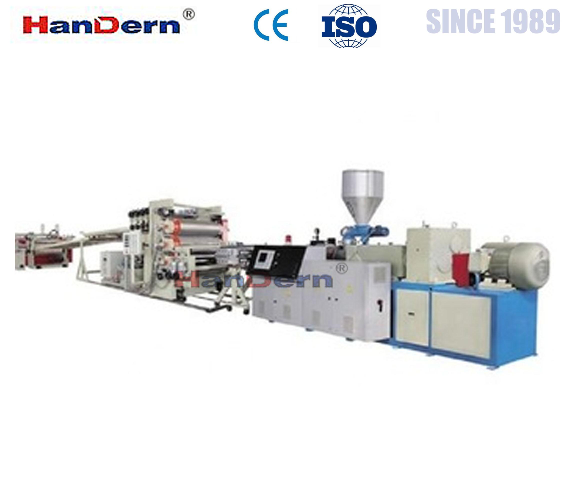 PC Sunshine sheet extrusion machine