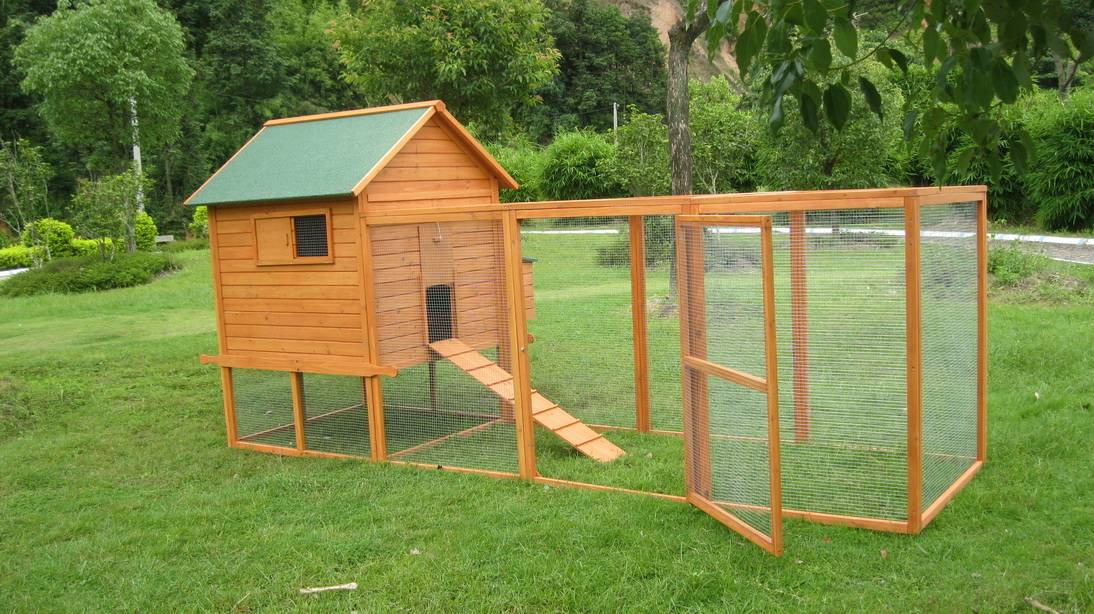 Wooden Chicken Coop (CKH014)