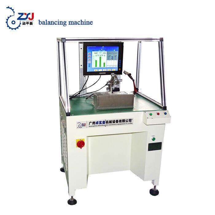 wheel testing machine rotor dynamic balancing machine
