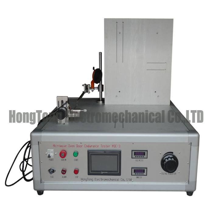 PLC Control Microwave Oven Door Performance Test Machine