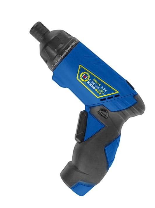 Cordless Screwdriver with Li-ion Battery