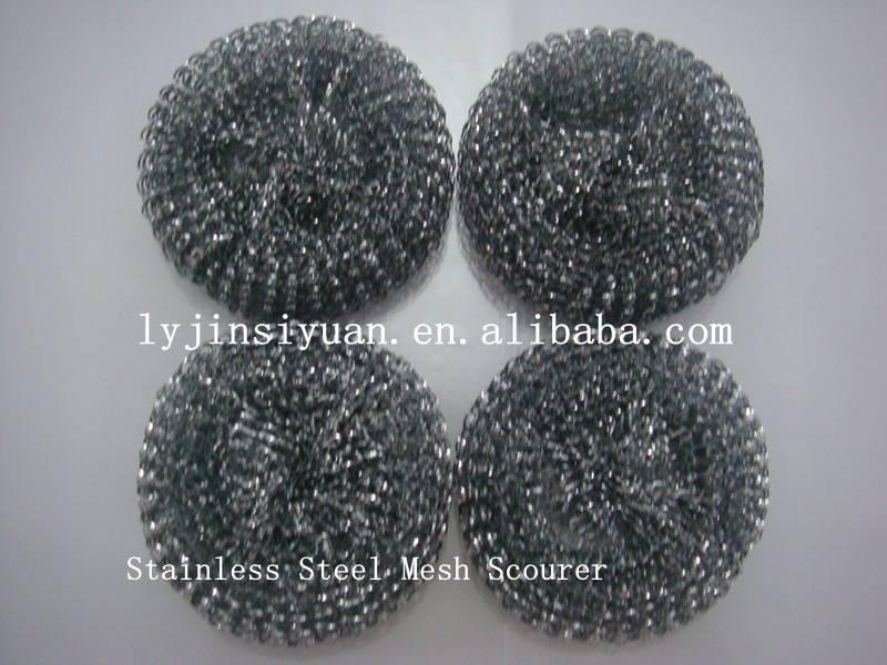 Factory iron wire/stainless steel net scourer