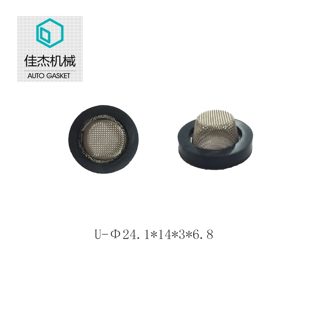 rubber&plastic wrapping mesh gasket on water cleaning machine