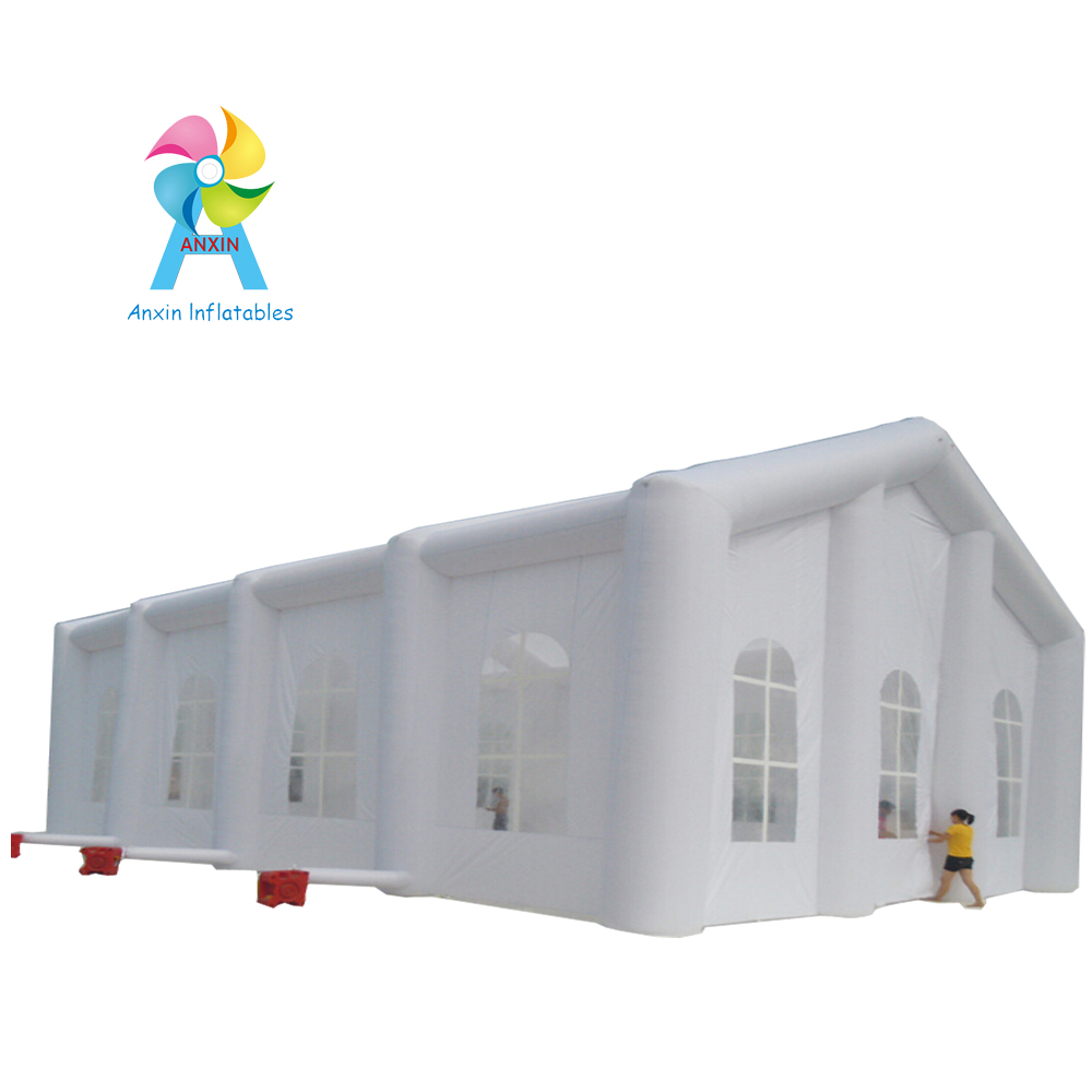 PVC tarpaulin material inflatable promotional advertising tent, outdoor inflatable wedding house