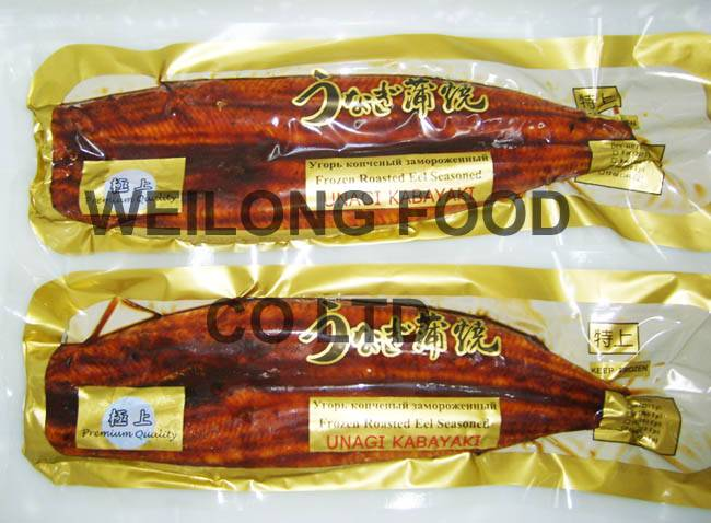 Frozen Roasted Eel (Vacuum Packing)