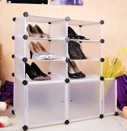 assemble DIY storage cabinet
