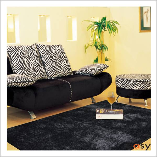 Popular selling shaggy rug in customized colors and sizes
