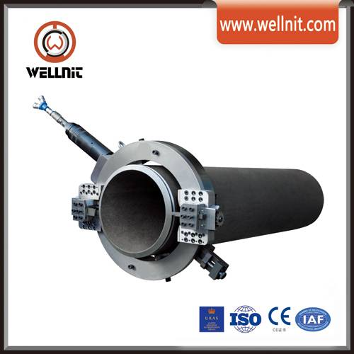 Pneumatic Pipe Cutting & Beveling Machine