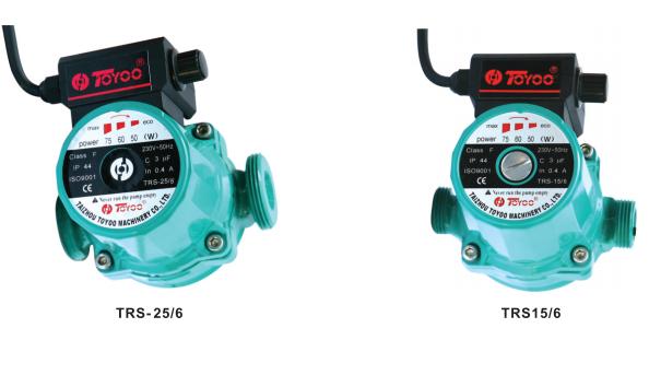 TRS circulation pumps