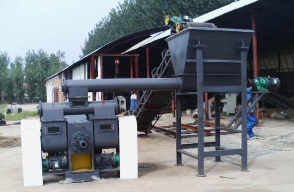 Biomass Straw Briquetting Press(KJY-1000)