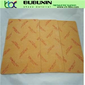 Hot sale 1.0mm-4.0mm nonwoven shoe fiber insole board