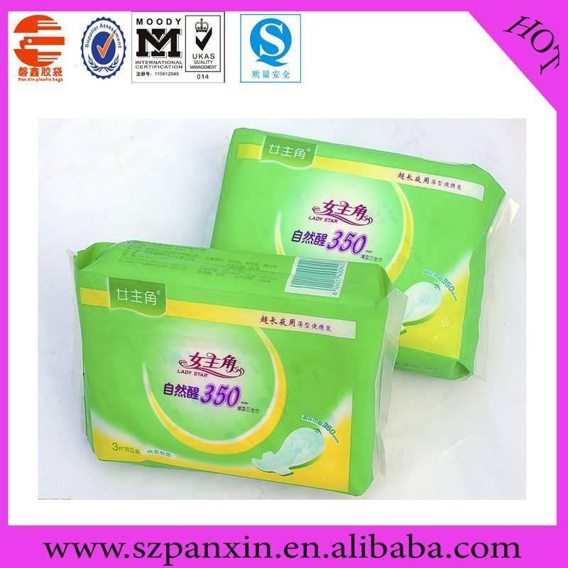 sanitary towel flexible packaging