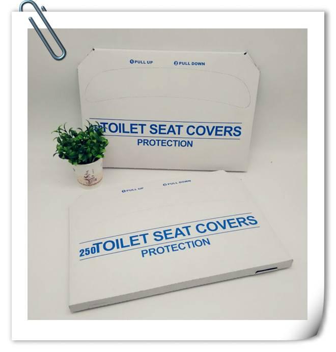 EOC-friendly  flushable paper toilet seat cover