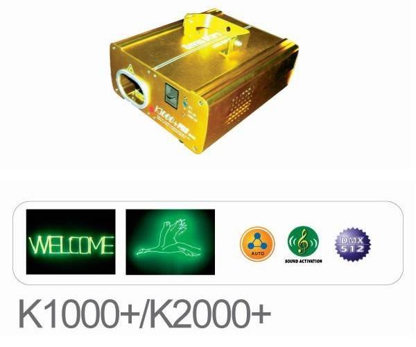 Laser Stage Light - Laser Scanner / Galvos - K1000+
