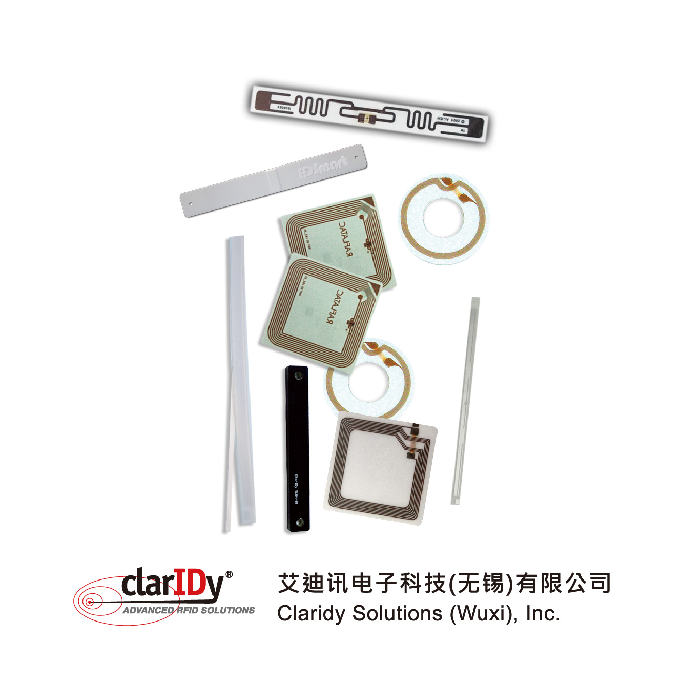 RFID Label Security label Sticker library security strip magnetic book label