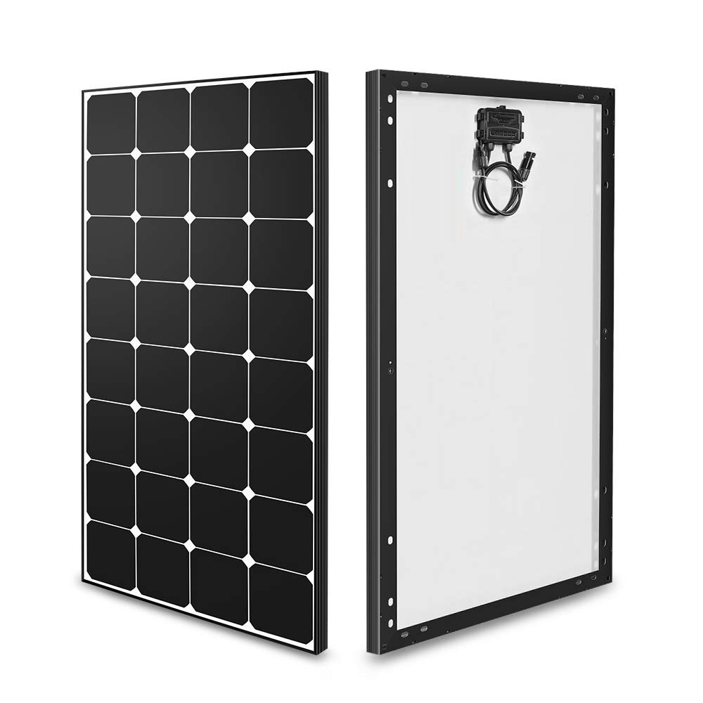 100w 12 volt mono solar panel high efficiency module off grid pv power for battery charging boat car