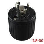 LK-6334B BakeliteL8-30P Locking Plug